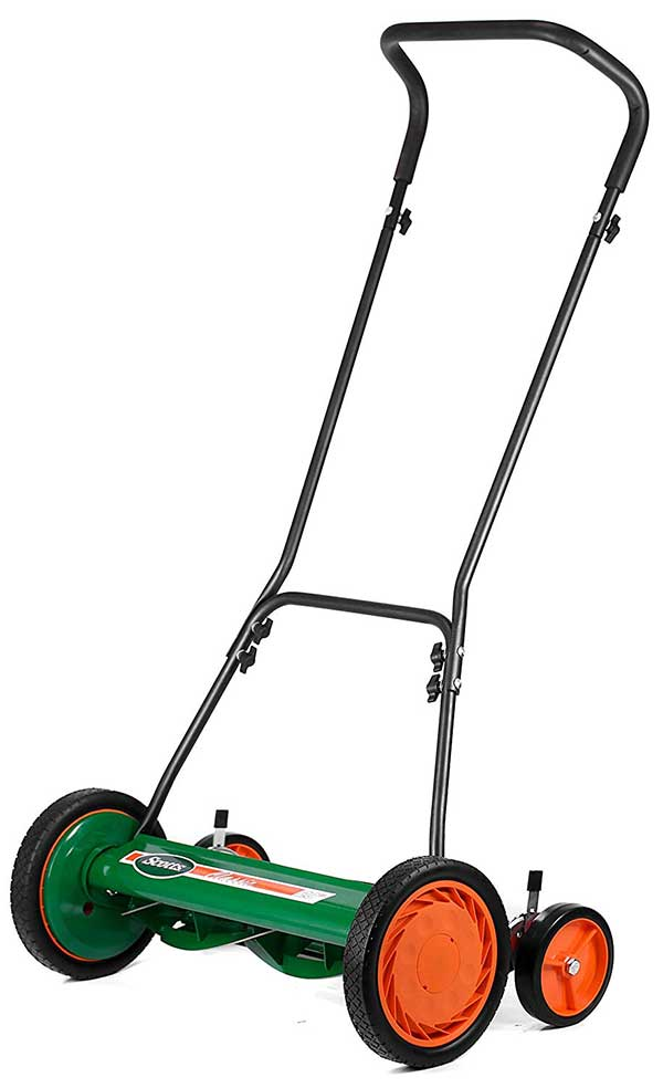 Scotts Outdoor Power Tools 2000-20 Classic Push Reel Lawn Mower, 20-Inch